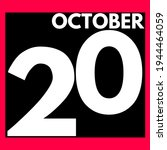 October 20 . Modern Daily...