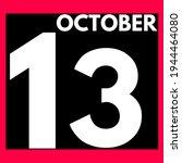 October 13 . Modern Daily...