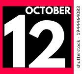 October 12 . Modern Daily...