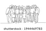 group of people continuous one... | Shutterstock .eps vector #1944469783