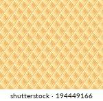 Waffle Texture. Vector...
