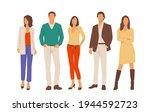 set of young men and women ... | Shutterstock .eps vector #1944592723