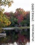 Autumn Lake In The Pocono...