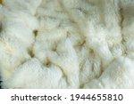 White Wool Background Use...