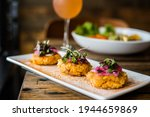 Delicious Crab Cakes And Salmon ...