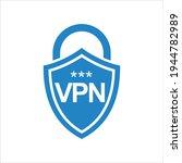 virtual private network icon...   Shutterstock .eps vector #1944782989