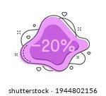 20 percent color bubble shape...   Shutterstock .eps vector #1944802156