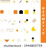 collection of memphis cards...   Shutterstock .eps vector #1944805759