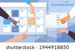 businesspeople hands planning...   Shutterstock .eps vector #1944918850