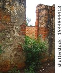 Old Decaying Walls Of A Fort In ...