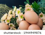 Easter Eggs In The Nest ...