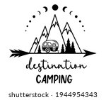 camping vector concept with...   Shutterstock .eps vector #1944954343