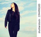 high fashion look. glamor... | Shutterstock . vector #194498183