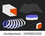 universal vector geometric...   Shutterstock .eps vector #1945001920