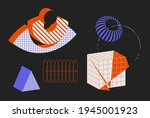 universal vector geometric...   Shutterstock .eps vector #1945001923