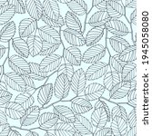 Seamless Pattern With Elm Tree...