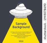 dark background with sample... | Shutterstock .eps vector #1945078690