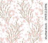 japanese cherry blossom sakura... | Shutterstock .eps vector #1945113496