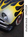 antique flamed car | Shutterstock . vector #1945114