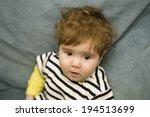 young baby portrait  studio... | Shutterstock . vector #194513699