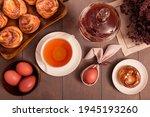 Easter Breakfast. Still Life...