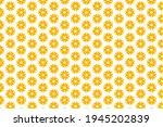 Yellow Seamless Pattern With...