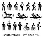 orthopedics medical products...   Shutterstock .eps vector #1945235743