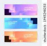 vector abstract graphic design... | Shutterstock .eps vector #1945248253