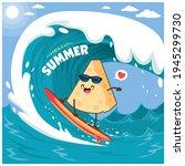 Vintage Summer Poster Design...
