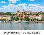 Fisherman Bastion Over Danube...