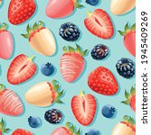 vector seamless pattern with... | Shutterstock .eps vector #1945409269