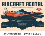 aircraft rental plane flight... | Shutterstock .eps vector #1945411693