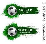 soccer club football ball ... | Shutterstock .eps vector #1945411723
