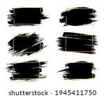 grunge frames isolated vector... | Shutterstock .eps vector #1945411750