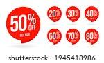 sale discount set product... | Shutterstock .eps vector #1945418986