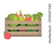 healthy food  cabbage ...   Shutterstock .eps vector #1945447183
