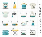 Laundry and Washing Icons
