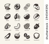 acorn,almond,beans,brazil,cashew,chestnut,cocoa,coconut,coffee,collection,design,diet,eating,element,filbert