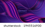 abstract 3d background. vector... | Shutterstock .eps vector #1945516930