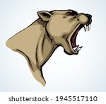 strong big furious mad pride... | Shutterstock .eps vector #1945517110