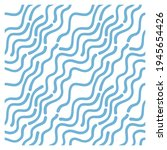 seamless pattern with waves.... | Shutterstock .eps vector #1945654426