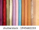 Multi Colored Fabrics Lie...