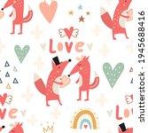 Boho Seamless Pattern. Cute...