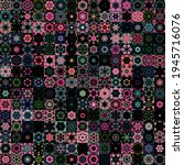abstract geometric shapes and...   Shutterstock . vector #1945716076