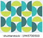 Geometric Semicircle Print....