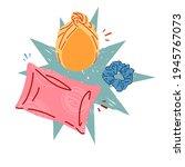 illustration of silk pillowcase ...   Shutterstock .eps vector #1945767073