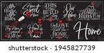 home banner blackboard  vector. ... | Shutterstock .eps vector #1945827739