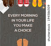 concept of choices  every... | Shutterstock .eps vector #194586509