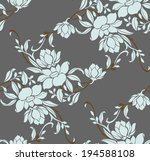 seamless pattern with beautiful ...   Shutterstock .eps vector #194588108