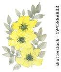 Watercolor Floral Bouquet....